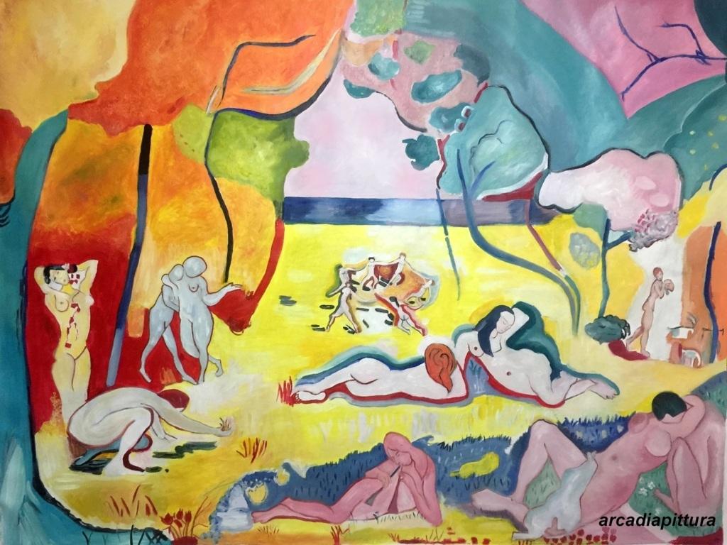 Falsi d\'autore Dipinti a olio su tela realizzati a mano, falsi d ...